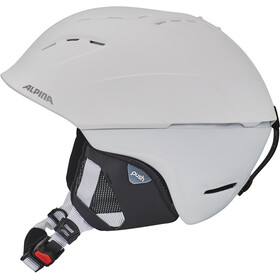 Alpina Spice Casco da sci, white matt